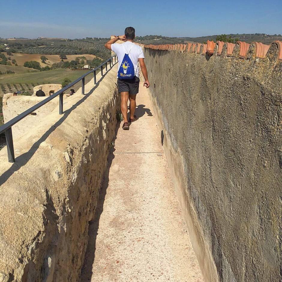 weekend in maremma toscana cinta muraria di Magliano in Toscana