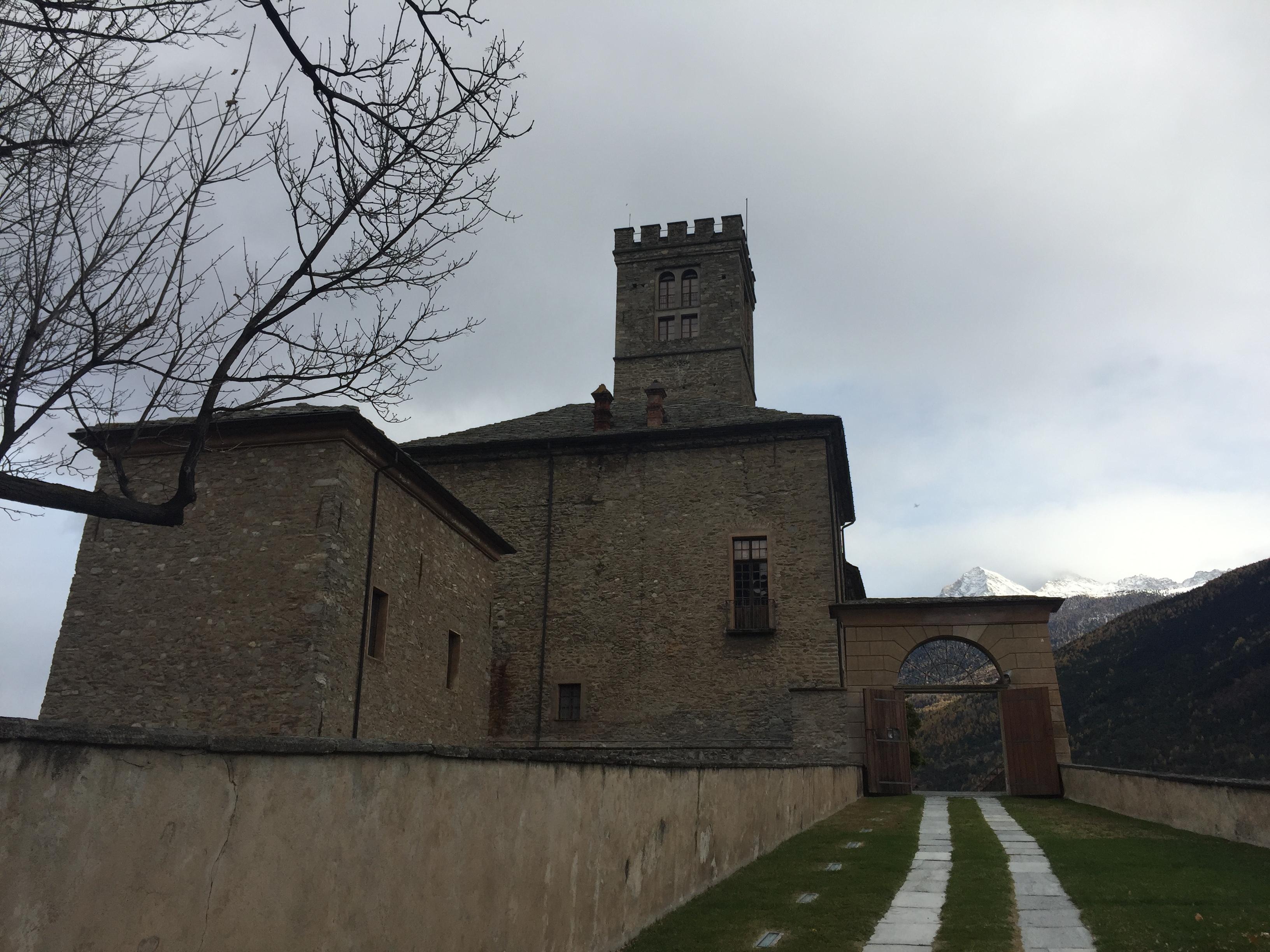 Esterno Castello di Sarre