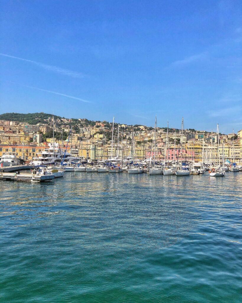 Il pittoresco Porto Antico di Genova