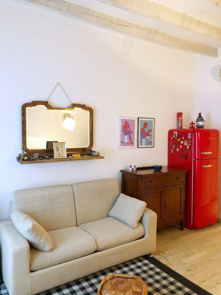 "Zona divano e relax - ""Vintage Flat - Porta Romana"""