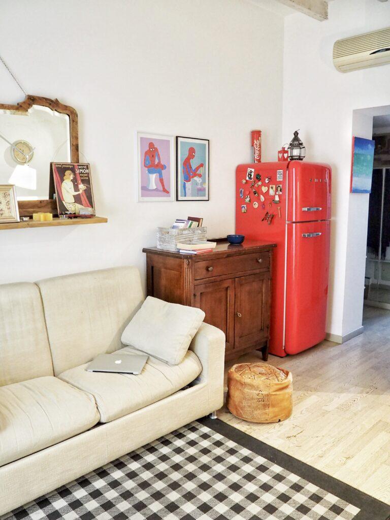 """Zona Divano - """"Vintage Flat - Porta Romana"""""""