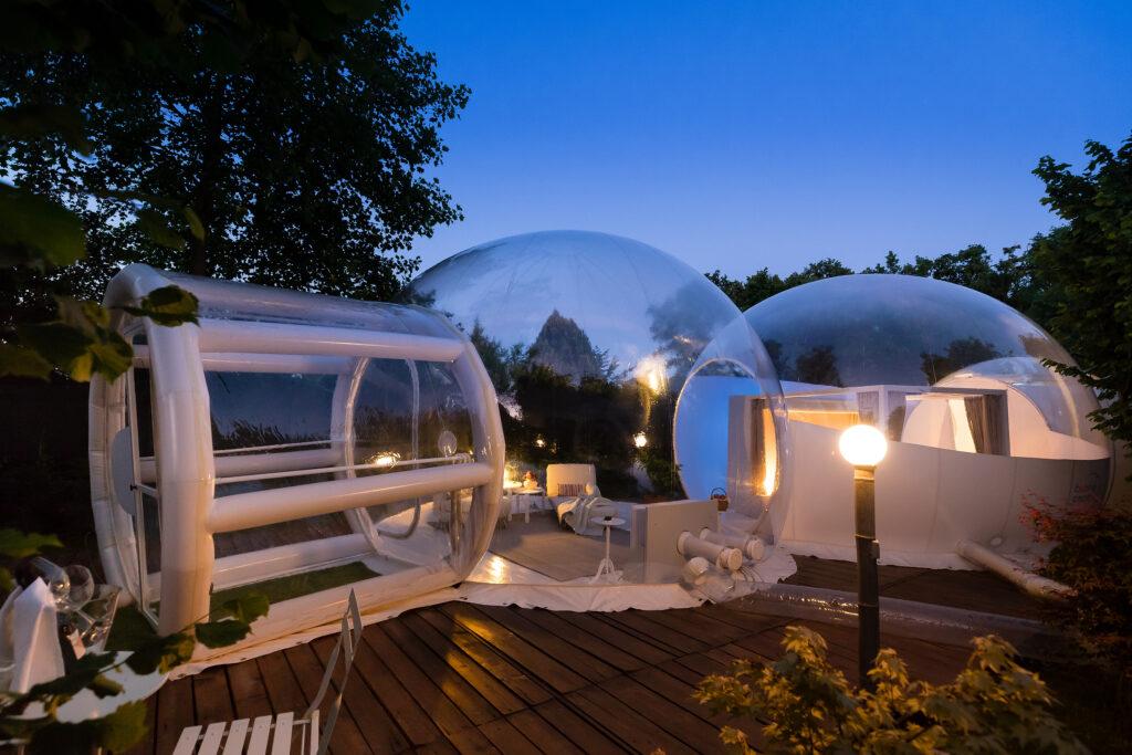 La struttura delle Bubble Room